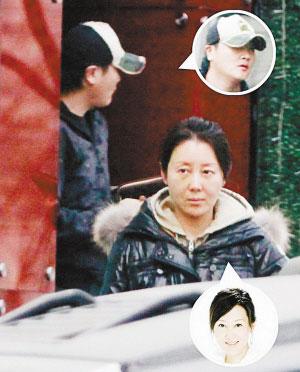 去年十月,孙楠和潘蔚的恋情被撞破