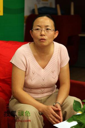 世界自然基金会气候变化项目主任 陈冬梅