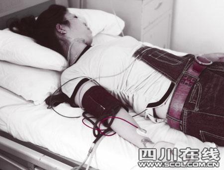 李小姐在医院接受治疗
