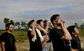 图文:孟加拉国观日食