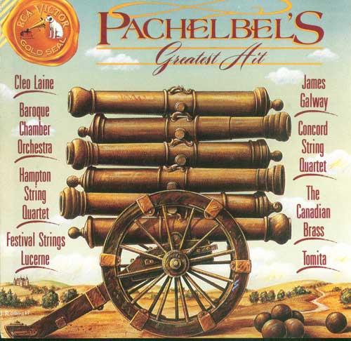 十七世纪德国作曲家Pachelbel