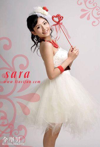 白裙显公主气质