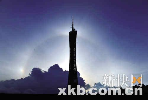 广州新电视塔摩天轮及跳楼机铸世界之最(组图)