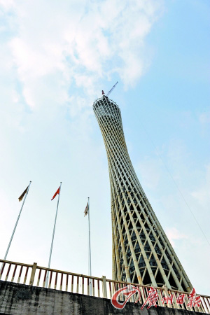 在建的电视塔