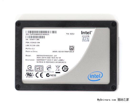 Intel 34nm X25-M固态硬盘对比拆解、性能实测