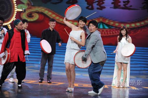 图:《明星转起来》豪华升级 宪哥张恒现场耍宝