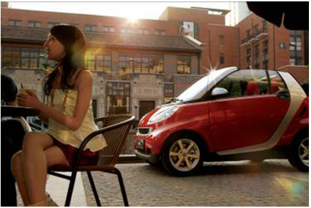 梅赛德斯 奔驰smart 选择的智慧高清图片