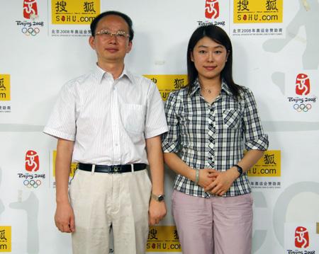 三校名师司法考试辅导专家姚贝、徐彪做客搜狐