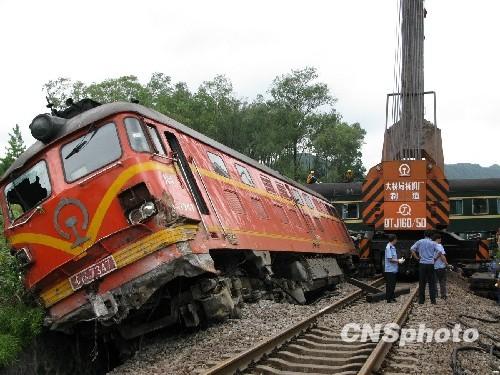 国内新闻 广西柳州柳城火车脱轨事故 1473次列车脱轨消息    7月29日