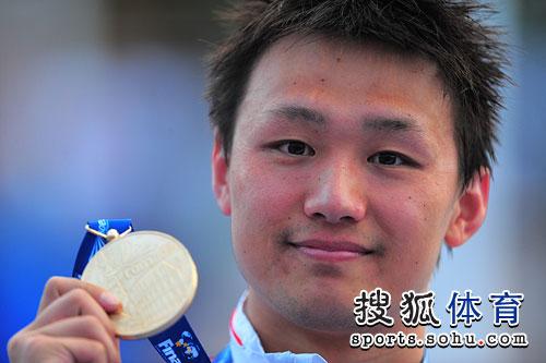 罗马世锦赛 800米自由泳夺金 破世界纪录