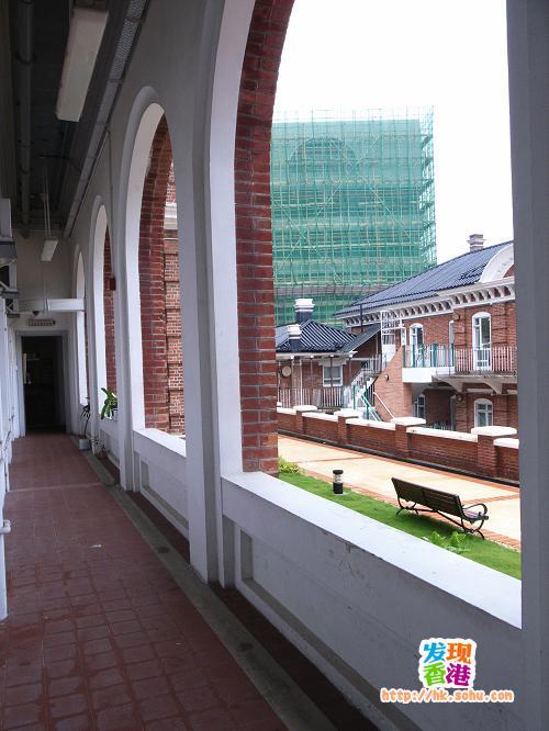 香港大学仪礼堂走廊