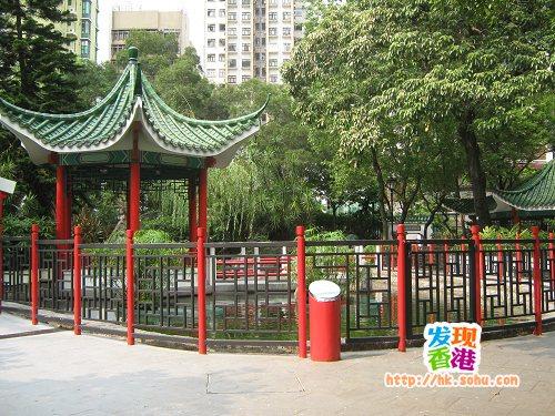原大笪地现改建成公园
