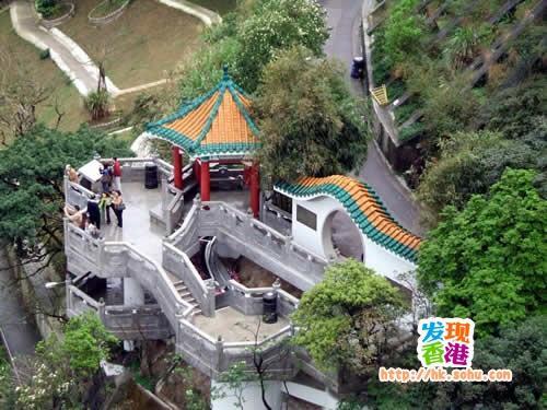 香港太平山景致