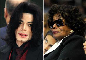 杰克逊和母亲凯瑟琳