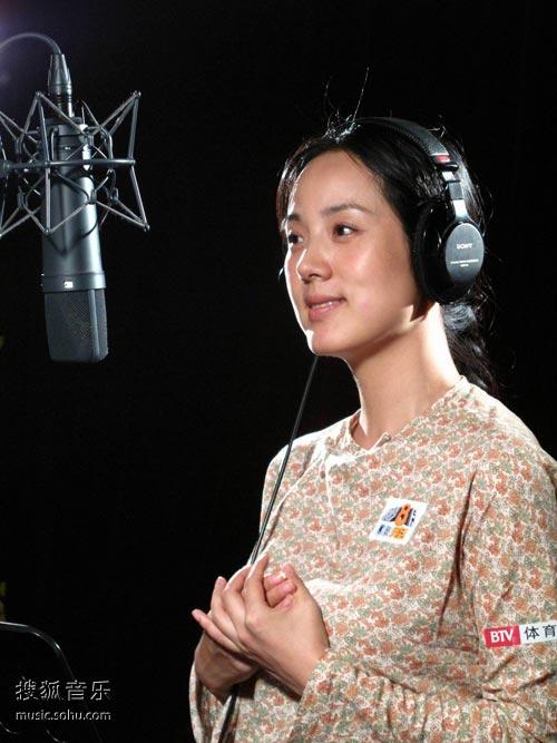 哈辉为奥运歌唱