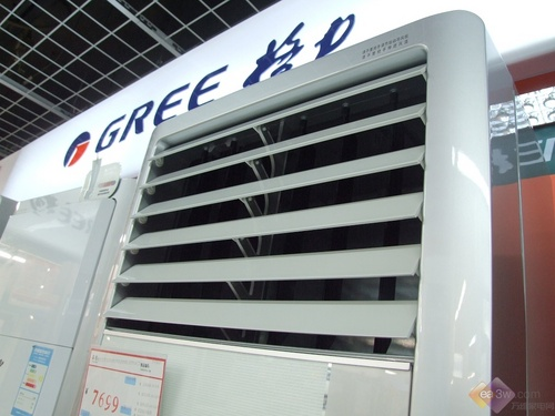 关注居高不下 格力变频立柜空调热卖