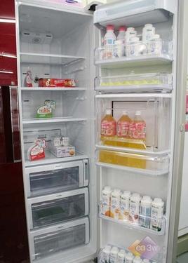 [组图]降4000元 三星对开门冰箱热销