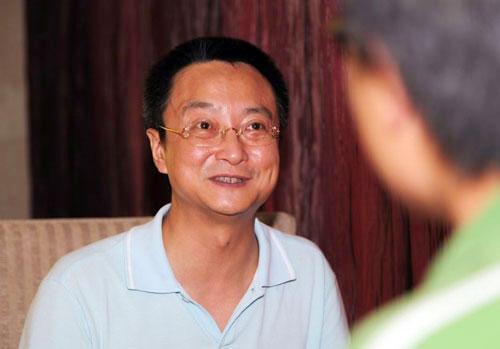一汽马自达汽车销售有限公司副总经理于洪江接受搜狐汽车编辑采访