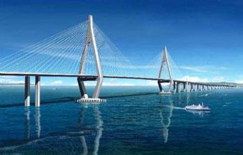 港珠澳大桥用钢可建11个鸟巢 技术史上最复杂