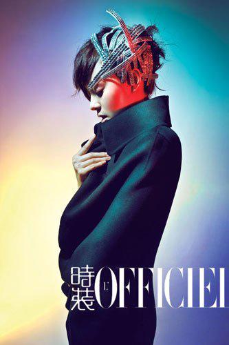 孙俪为《时装》女刊拍摄的时装片极尽梦幻之感。