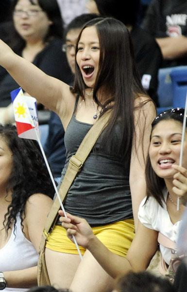 菲律宾美女身材很火爆