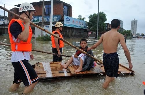 青塘浙江遭百年一遇水灾龙舟充当上街运输船陆丰市苍南舞狮图片