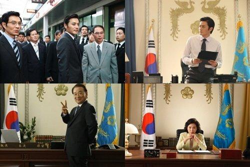 张东健/张东健李顺才新片《早安总统》顺利杀青