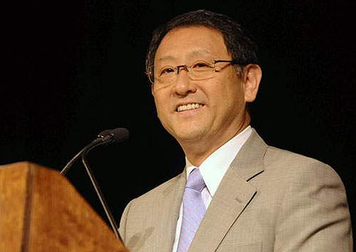 丰田新任总裁丰田章男不喜欢数字目标