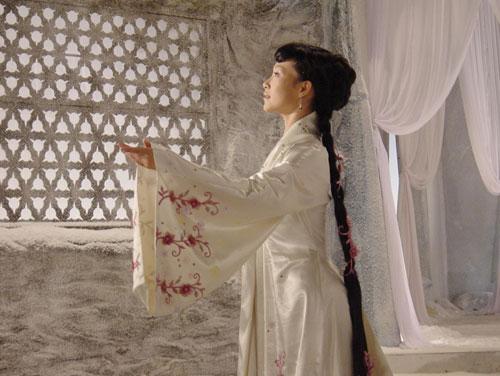 吕薇在《梅花雪》中的剧照