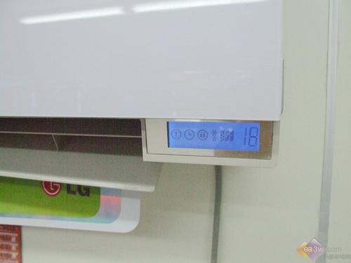独特三色过滤网 LG节能空调国美特卖