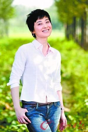 梅婷饰演严守一之妻于文娟