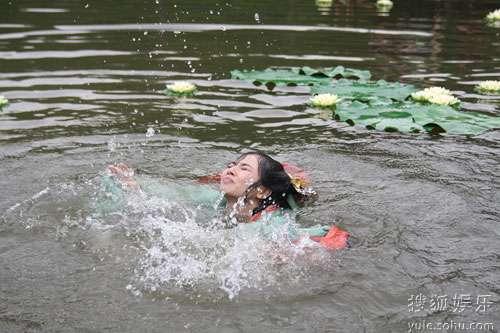 陈怡蓉溺水开拍