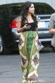 好莱坞一周潮人街拍:瓦妮莎-哈金斯2