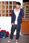 明星时尚周报红毯篇:梁汉文 贝雷帽成为新风尚