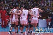图文:中国男排3-1澳大利亚 队员相互鼓劲