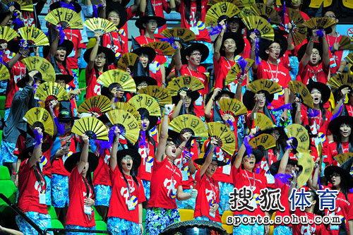 中国女排拉拉队