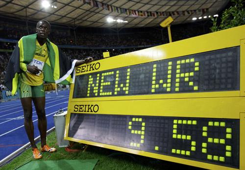 01-博尔特2009柏林世锦赛9秒58
