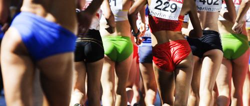 知道我为什么喜欢看女子竞走吗