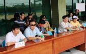 图文:亚洲棒球邀请赛 官员席