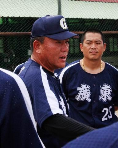 图文:亚洲棒球邀请赛 广东队主教练总结