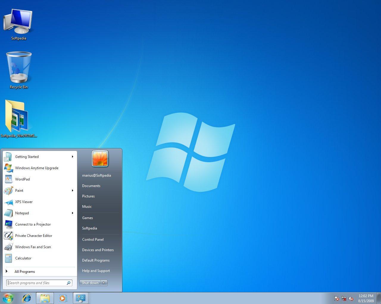 windows7怎么安装_windows 7 starter完整安装及桌面截图
