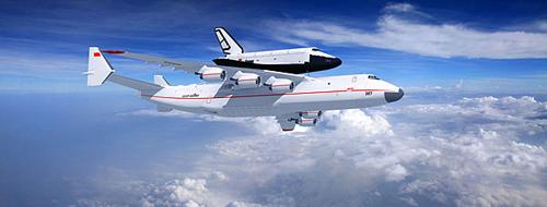 安225当年主要任务是背负发射暴风雪航天飞机