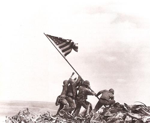 乔-罗森塔尔《硫磺岛》 1945年