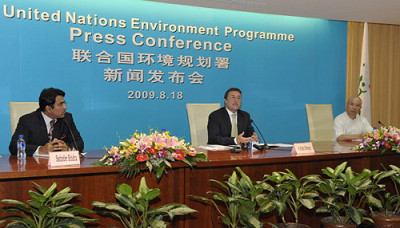 联合国环境规划署举行新闻发布会