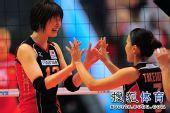 日本女排最在意形象 比赛两局要换干净衣服再上