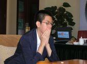 图文:中韩天元对抗第二局打响 姜东润以手抚面