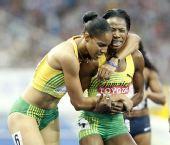图文:世锦赛女子400米栏决赛 沃尔克激动不已