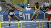 图文:世锦赛女子400米栏决赛 沃尔克稍稍落后