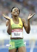 图文:世锦赛女子400米栏决赛 沃尔克笑容满面