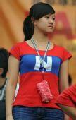 图文:[中超]成都VS长春 谢菲联女球迷